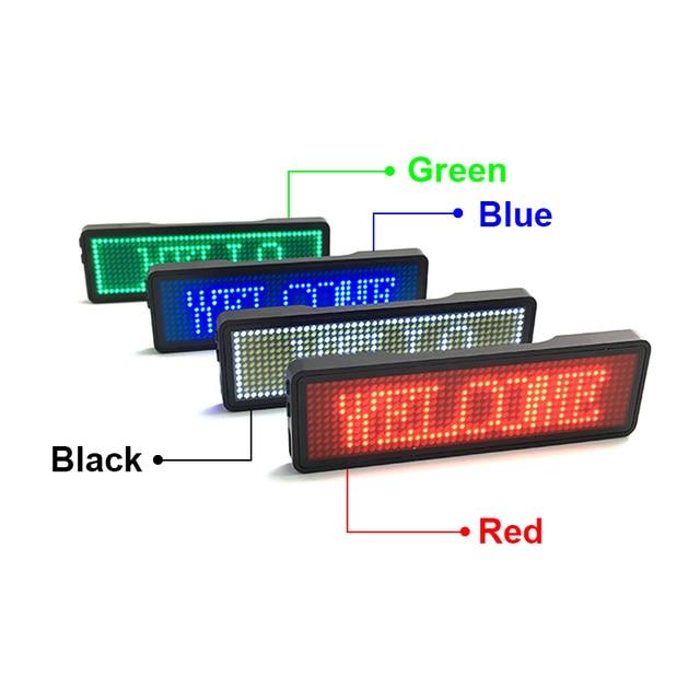 HUIDU LED Name Badge 11px*44px 1