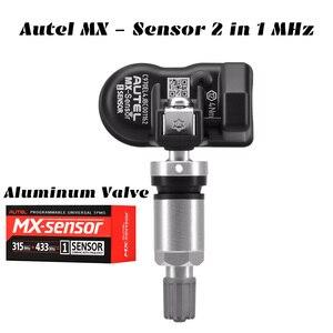 Image 4 - Autel MX Датчик 433 315 МГц TPMS датчик Инструменты для ремонта шин сканер MaxiTPMS Pad монитор давления в шинах тестер Программирование MX Sensor