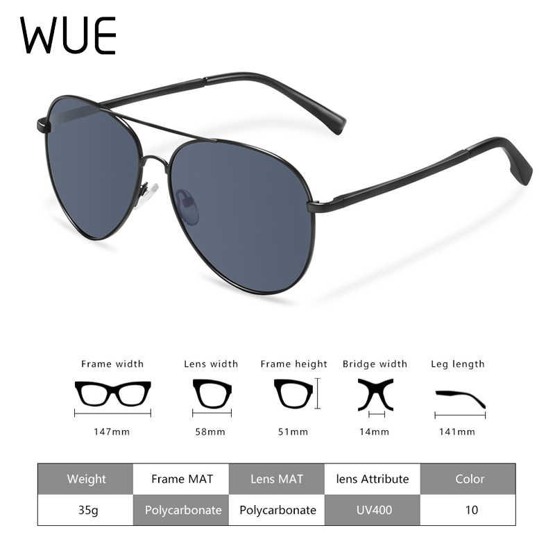 2019 marca polarizada óculos de sol das mulheres dos homens piloto de condução óculos de sol vintage Anti-UV400 óculos de motorista eyewear