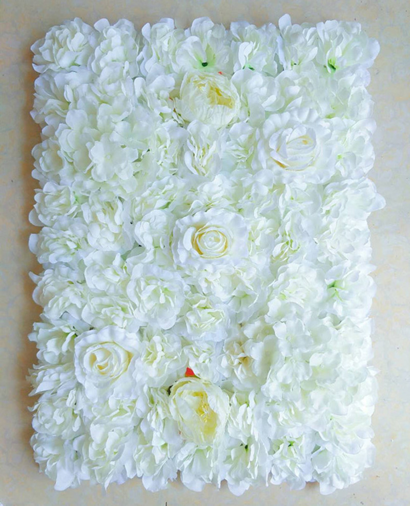 Encryption Simulation Flower Wall Wedding Background Decoration Plant Wall Festival Shooting Props Flower Arrangement in Artificial Dried Flowers from Home Garden