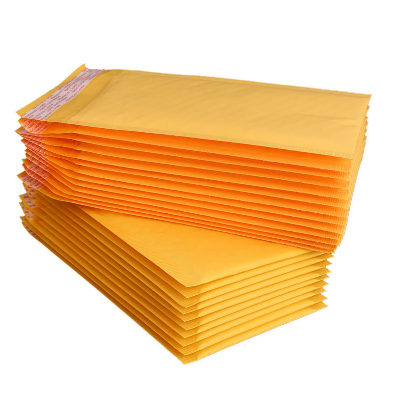 5pcs/LOT Paper Envelopes Bags Mailers Padded Envelope With Mailing Bag Business Supplies