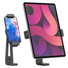 Ulanzi ST-20 Plastic 180 Rotation Tablet Phone Mount for Android Xiaomi Tablet iPad Pro Air 4 2 Mini Live Vlog Mount Zoom Call