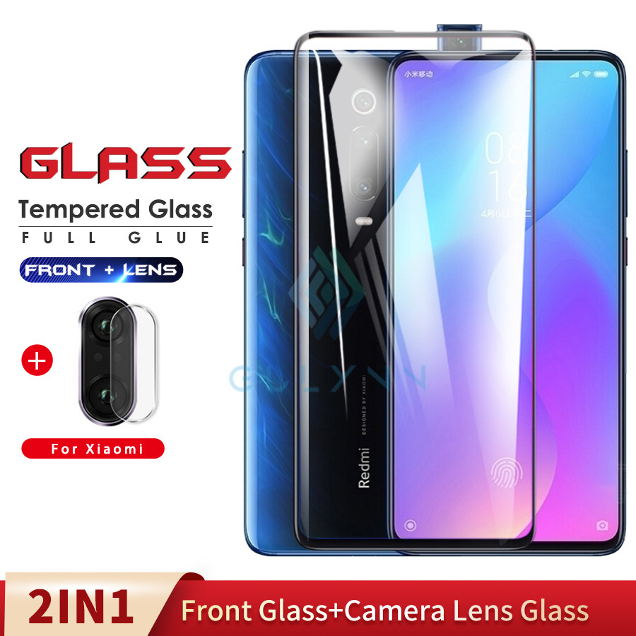 2 in 1 <font><b>Camera</b></font> Lens Film & Screen <font><b>Protector</b></font> Tempered Glass For <font><b>Xiaomi</b></font> Pocophone F1 <font><b>Mi</b></font> A2 A3 Lite 9 Mix 2s 3 <font><b>9T</b></font> 9 9SE Safety Film image