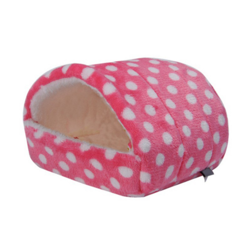 Pet Small Animals Supplies,Pet Breathable Nest Cotton Cage Warm Bed For Hamster Cotton Nest Cage Small Pet Nest Bed