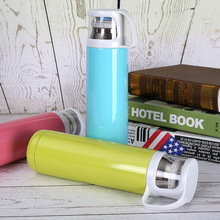 Creative bullet child double vacuum stainless steel flask high-grade car cup sports bottle
