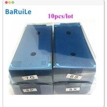 10 шт. водостойких наклеек для iPhone 6S 7 8 Plus X 8 P XS Max XR 3 м, клейкая предварительно разрезаемая рамка для ЖК-дисплея, ремонтные детали