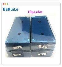 BaRuiLe 10pcs Waterproof Sticker for iPhone 6S 7 8 Plus X 8P XS Max XR 3M Adhesive Pre-Cut LCD display Frame Tape Repair Parts