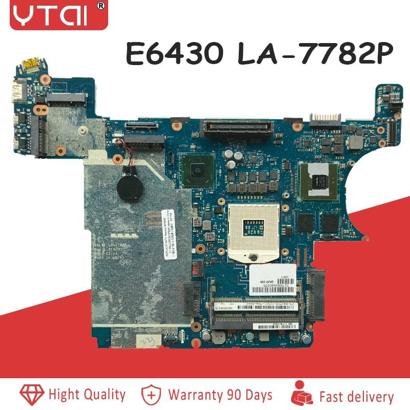 QAL81 LA 7782P VOOR DELL Latitude E6430 laptop moederbord CN 0D8WN3 D8WN3 REV: 1.0 (A00) 100% getest intact-in Moederborden van Computer & Kantoor op AliExpress - 11.11_Dubbel 11Vrijgezellendag 1
