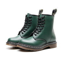 Winter Women Boots Leather Ankle Martenss Boots Casual DrBot