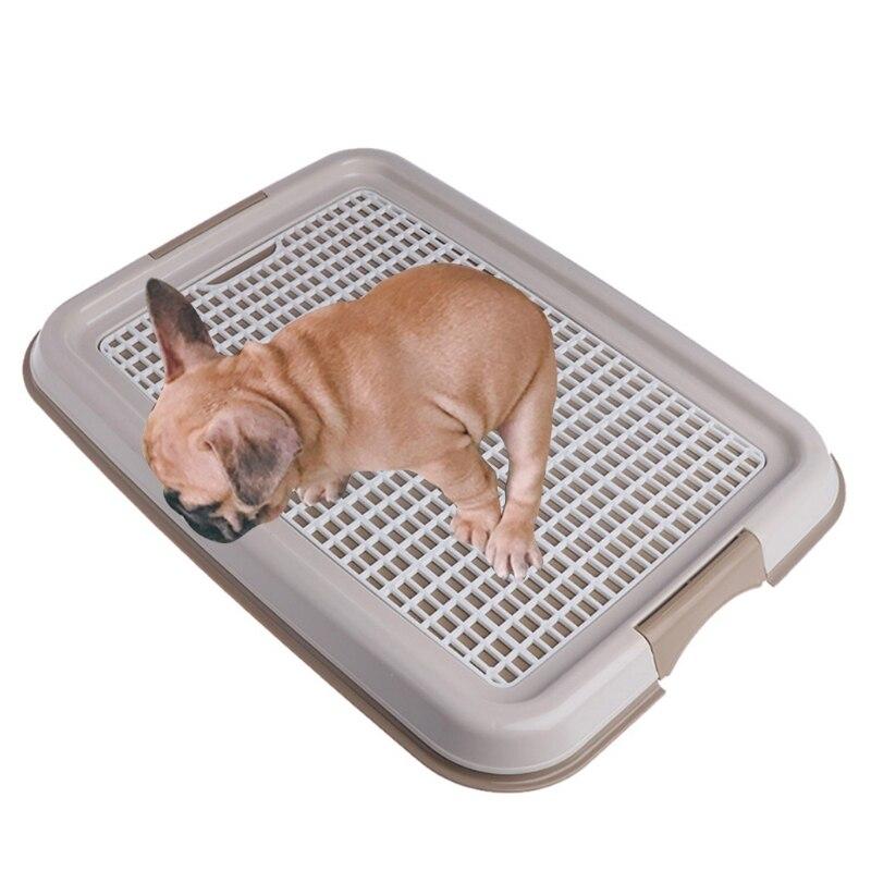 Reusable Pet Training Toilet For Small Kitten Dog Cat Mesh Pad Holder Good Clean