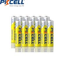 PKCELL 12PC AAA Battery 1.2V NI MH AAA Rechargeable batteries capacity (600mah 1000mah 1200mah) battery circle times 1000  times