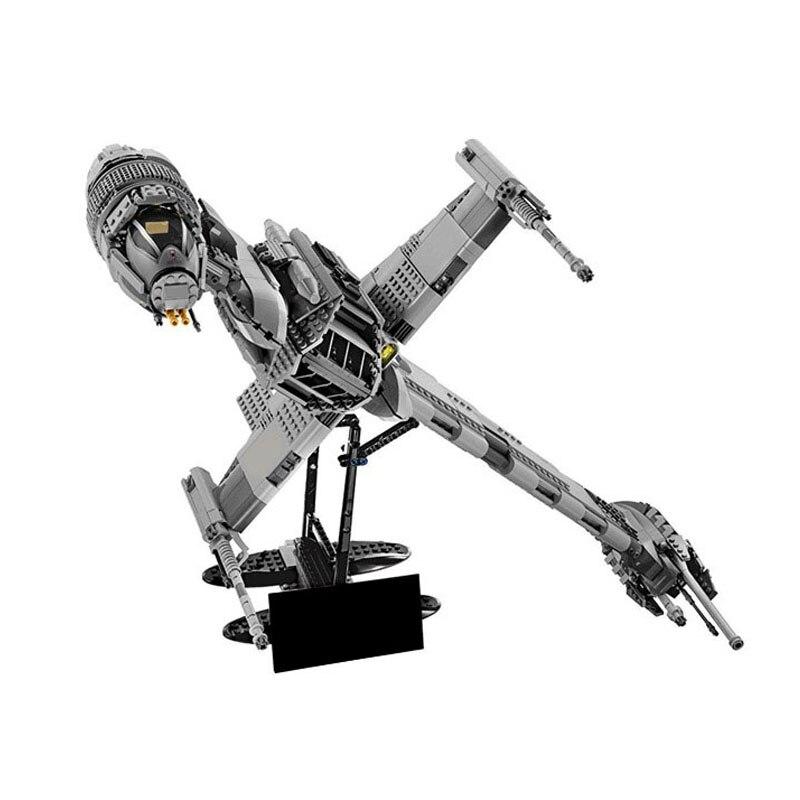 Nouveau 05045 Star Space Wars série le b-wing Starfighter Mobile bloc de construction 1487 pièces briques compatibles avec Bela StarWars