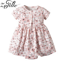 baby girl dress summer children clothing 2017 baby girl clothes cute newborn baby clothes roupas bebe infant kids dresses ZAFILLE Newborn Baby Girl Clothes 2020 New Kids Summer Dress Cute Floral Print Dress Toddler Infant Girls Clothing Girl Dresses