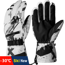 Ski-Gloves Velvet Touch-Screen Cycling Motorcycle Skiing Snow Waterproof Winter Women