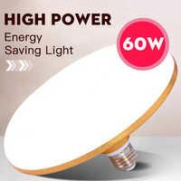 E27 Led Bulb 220V Led Lamp 15W 20W 30W 50W 60W 40W Super Bright UFO Leds Lights Bulb for House Lighting Table Lamps Kitchen