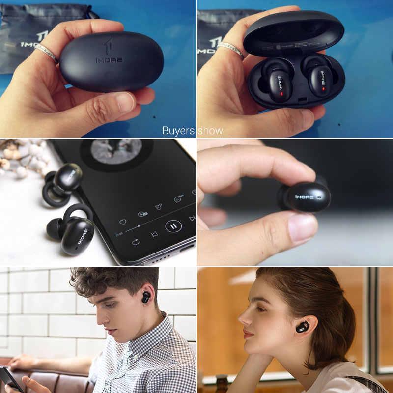1 więcej E1026BT stylowe prawda bezprzewodowe TWS słuchawki Bluetooth 5.0 douszne E1026BT-I fasoli zestaw słuchawkowy obsługuje aptX ACC z mikrofonem