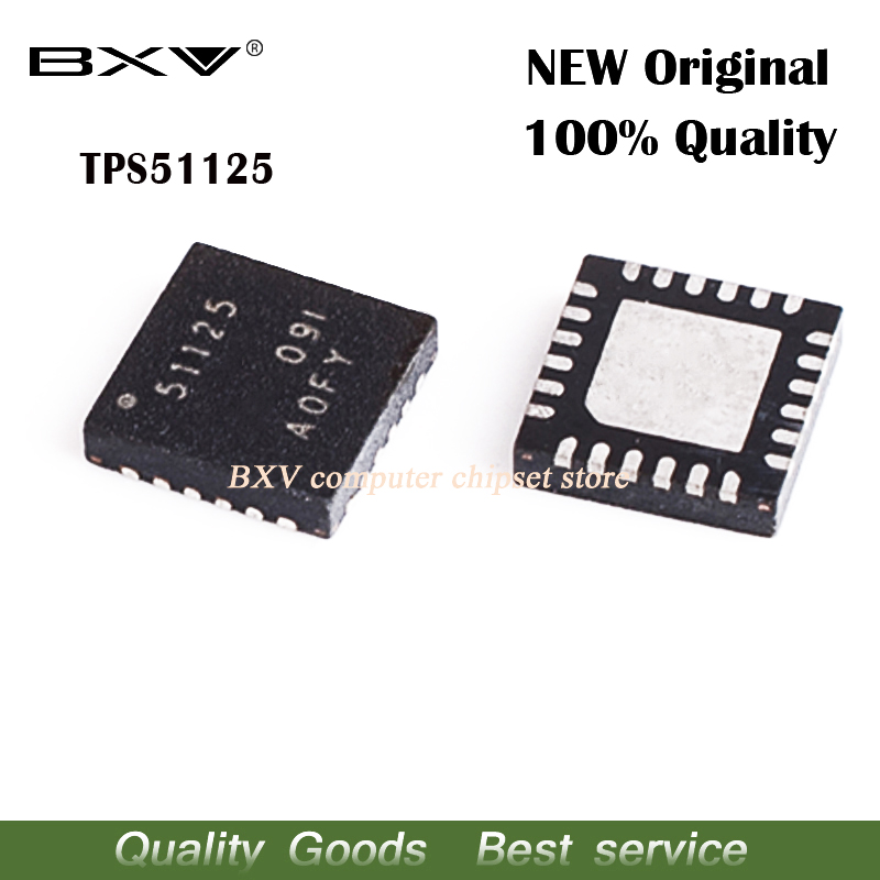 2pcs TPS51125 TPS 51125 Dual-Synchronou​s Step-Down Controller IC chips
