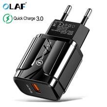3A Quick Charge 3.0 USB Charger EU โทรศัพท์มือถือสำหรับ iPhone X MAX 7 8 QC3.0 FAST สำหรับ Samsung Xiaomi