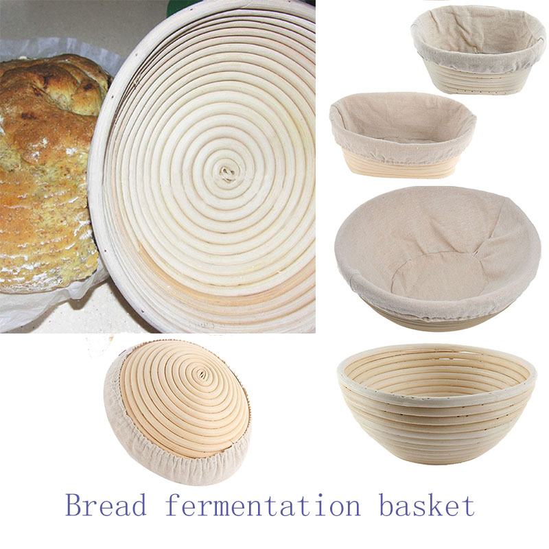 Bread Fermentation Rattan Basket Country Bread Baguette Dough Mass Proofing Tasting Proving Baskets Supplies