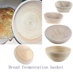 Bread Fermentation Rattan Bask