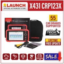 Launch X431 CRP123X OBD2 스캐너 ENG ABS 에어백 SRS AT 자동 진단 도구 OBD 코드 리더 진단 스캐너 WIFI 무료 업데이트