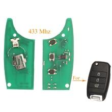 Circuito chiave a distanza dellautomobile di Kutery 3 pulsanti per Kia K4 Sorento Sportage Fob 433MHZ senza Chip