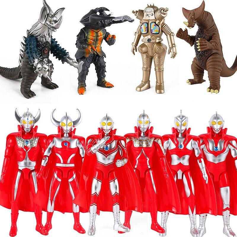 Ультрамен Таро семь Джек Эйс 24 см, милые фигурки героев, модель детской модели, игрушки, подарки без коробки