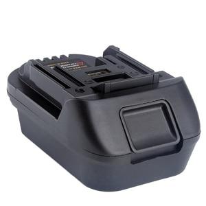 Image 3 - Адаптер литий ионного зарядного устройства Dm18M для батарей Milwaukee Makita Bl1830 Bl1850, с преобразованием батареи в 18 в, от 5 до 18 в
