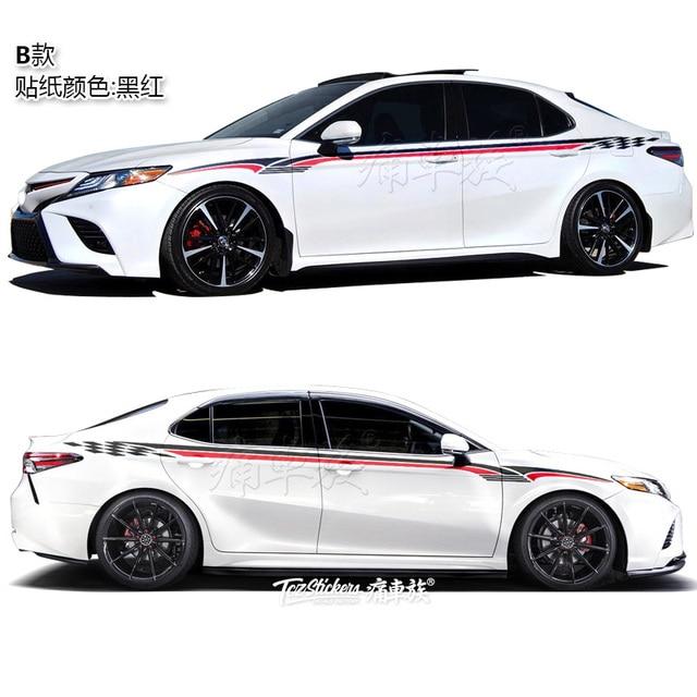 For Toyota Camry Avalon 2019 Car Sticker Body Exterior Decoration Sticker Avalon Sport Exterior Modification 3