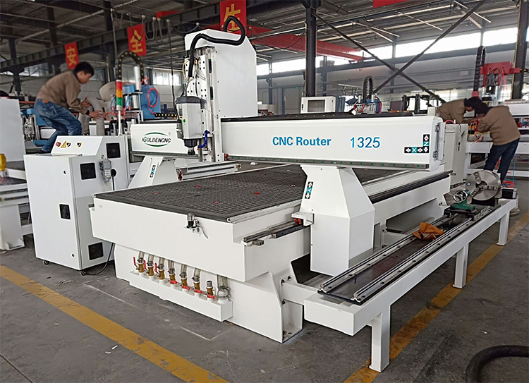 Cnc Router 4 Axis Cnc Engraver 1325 Wood Working Machine With Rotary
