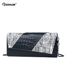 ZOOLER Real Skin woman leather cross body bags High Quality messenger bag Genuine envelope bolsa feminina #LT256