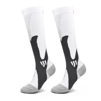 High Quality Knee High Men Compression Socks Helps in Anti Fatigue and Pain Relief of Lower Leg