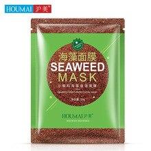 10Pcs HOUMAI Natural Seaweed Facial Mask Granule Collagen Whitening Anti-Aging Lifting Beauty Face Care Beauty Masks make up vivania beauty collagen