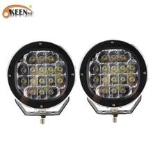 OKEEN High Power 5'' Led Light Bar 80W Work Light Spot Beam Led Bar 12V 24V Driving Light