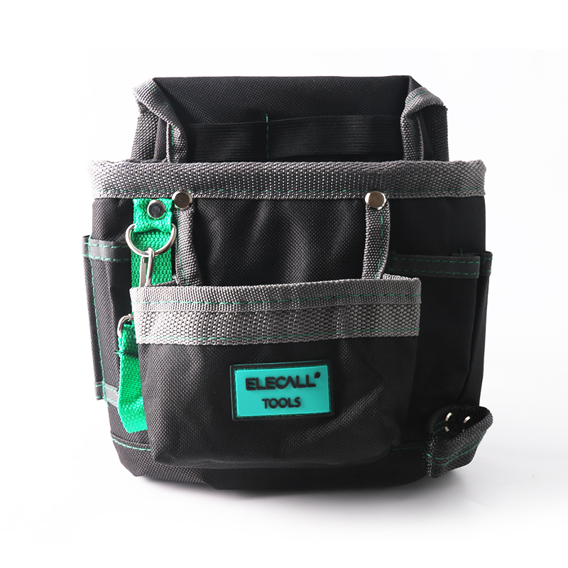 ELECALL Tools Bag Waist Belt Bag  Pocket Tool Storage Tool Pouch ELEB07 600D Oxford Cloth Hand Tools Hardware Storage