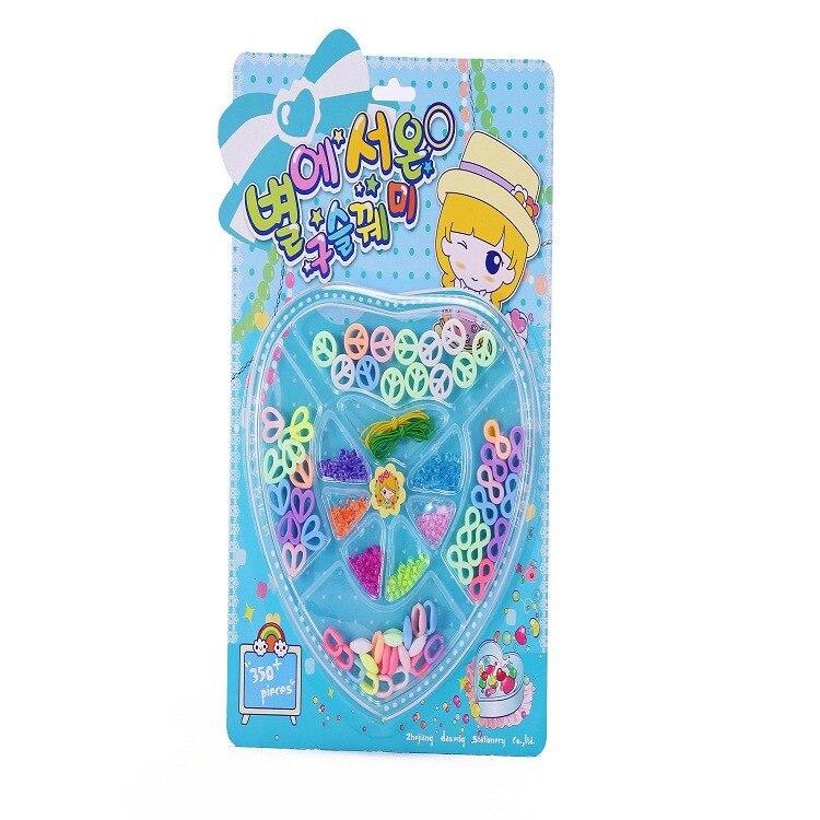 Story Toy Korean Style Style Star Beaded Bracelet Children Handmade DIY Children Fashion Bracelet Supermarket