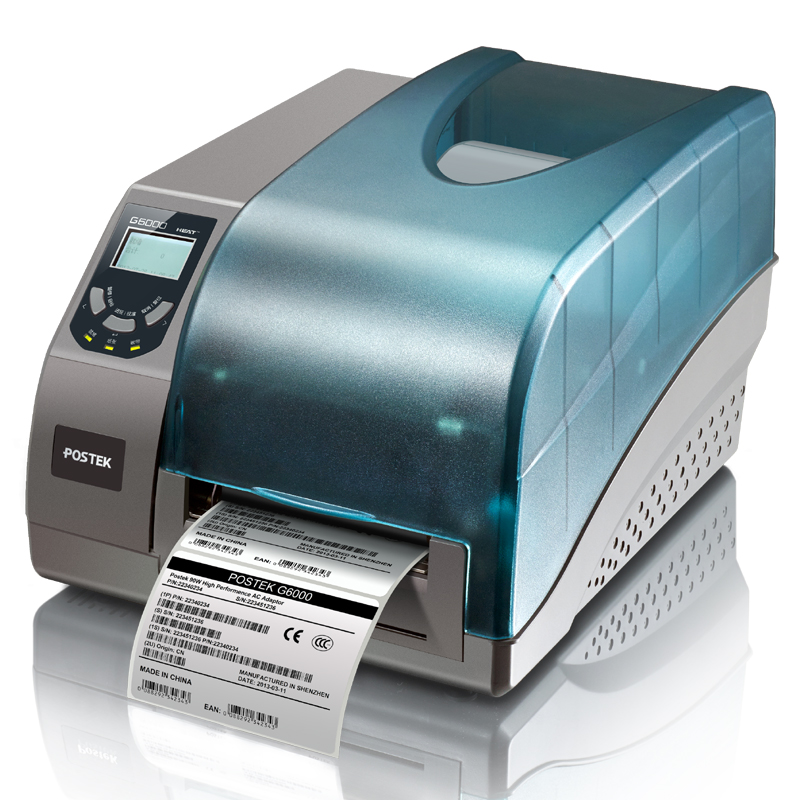 G6000 Barcode Printer Jewelry Clothing Tag Thermal Label Printer Commodity Price Label Sticker Printer Industrial Grade 600DPI