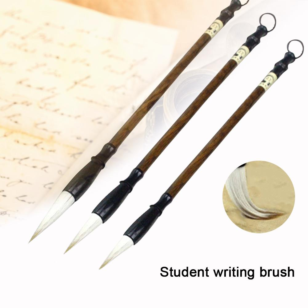 3PCS Writing Brush Watercolor Chinese Calligraphy Brush Set Painting Drawing Brushes For Students