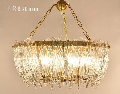 Creative Light Luxury Gl Chandelier