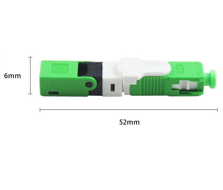 50-100-200pcs sc apc esc 250 conector de