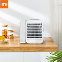 Xiaomi Mijia Microhoo Mini Air Conditioning Fan Computer Single Cold Humidification Mini Portable Control Sleep Silence Energy