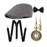 The 1920s vintage Great Gatsby party retro set and newspaper boy retro set