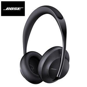Наушники Bose с шумоподавлением, 700 беспроводные Bluetooth наушники с глубокими басами, Спортивная гарнитура с голосовым помощником и микрофоном