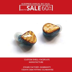 Image 1 - H6 소음 차단 이어폰 (와이어 포함) 1.2M MMCX 0.78mm 2 핀 분리형 1DD + 5BAs 무료 배송