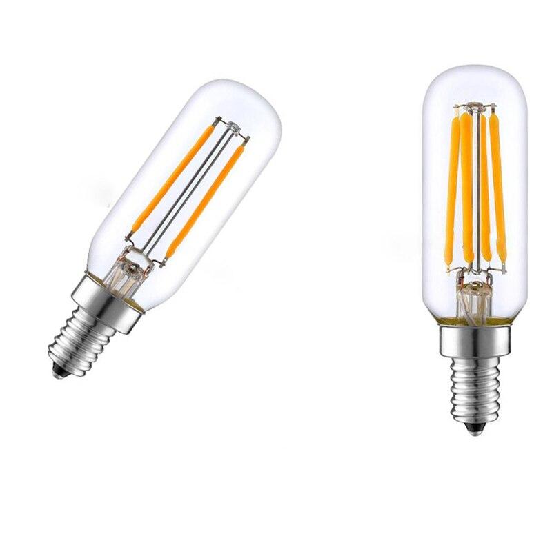 Новинка 4 Вт 8 Вт 12 Вт светодиодный 25 Светодиодная лампа для вытяжки кухонной бленды Холодный/теплый белый свет E14 220 в небольшой винт заменяе...