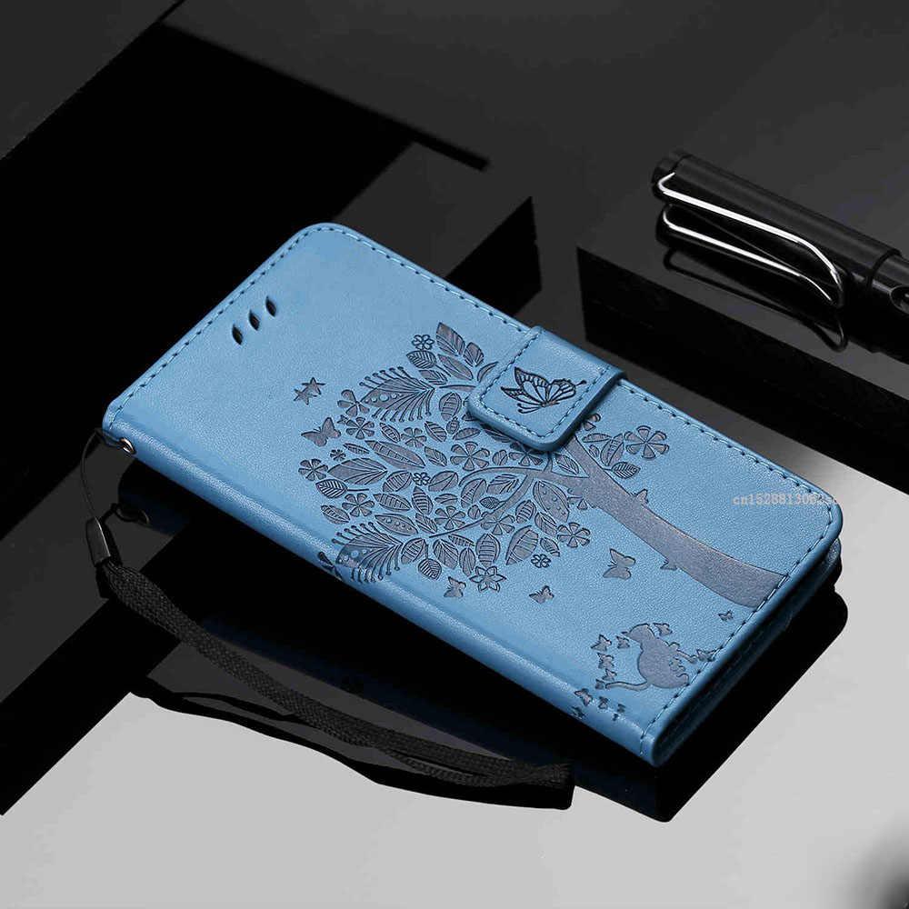 Funda abatible de cuero PU de calidad superior con ventana de visualización para DEXP G250 GL255 Ixion XL150 AS160 Z355 BS550