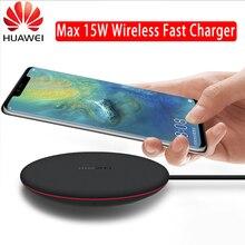Chargeur sans fil dorigine Huawei 15W charge rapide pour Huawei Samsung Xiaomi téléphones mobiles rapide Qi chargeurs sans fil 5V CP60