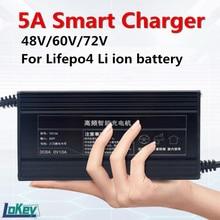 48 В, 8A, 10A, 13S, 54,6 в, 14S, 58,8 в, литий-ионный 16S, 58,4 в, lifepo4 умное зарядное устройство для электровелосипеда, мотоцикла, гольф-мобиля, Вилочная литиев...