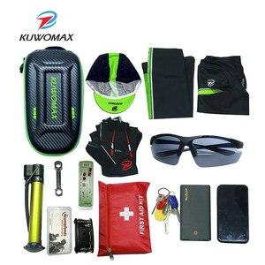 Image 5 - Sac de vélo étanche de grande capacité, sacoche Portable pour cyclisme, Tube avant, Sports de plein air, mince, avec accessoires