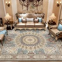 Persian Vintage Code National Wind Camel Palace Carpet Carpets For Living Room Carpet Kitchen Bathroom Anti-Slip Floor Mats